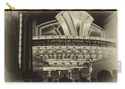 Signage A Journey Into The Movies Carry-all Pouch