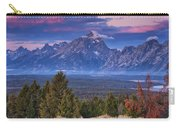 Signal Mountain Sunrise Carry-all Pouch
