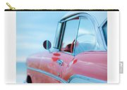 Signed Chevy Belair At The Beach Mini Carry-all Pouch