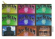 Signs Of Jim Beam Carry-all Pouch