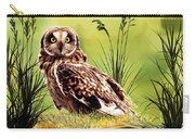 Silent Eyes Carry-all Pouch