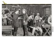 Silent Film Still: Cowboys Carry-all Pouch