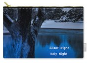 Silent Night Carry-all Pouch by Betty LaRue
