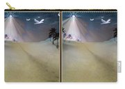 Silent Night - Gently Cross Your Eyes And Focus On The Middle Image Carry-all Pouch