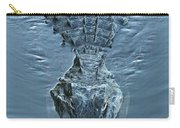 Submerged Alligator Approach Carry-all Pouch