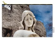 Silent Winter Angel Carry-all Pouch