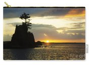 Siletz Bay Sunset Oregon 1 Carry-all Pouch