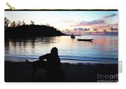 Silhouette At Sunrise Carry-all Pouch