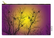 Silhouette Birds Carry-all Pouch by Christina Rollo
