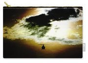 Silhouette Cloud Carry-all Pouch