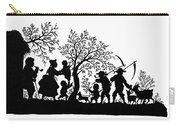 Silhouette Family Life Carry-all Pouch