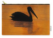 Silhouette Of A Pelican Carry-all Pouch