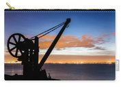 Silhouette Of Davit Carry-all Pouch
