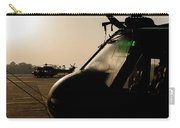 Silhouette Of Hellenic Air Force Search Carry-all Pouch