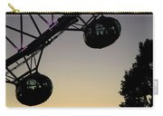 Silhouette Of London Eye Carry-all Pouch