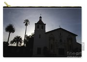 Silhouette Of Mission Santa Clara Carry-all Pouch