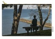 Silhouette On The Hill Carry-all Pouch
