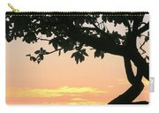 Silhouette Sunrise Carry-all Pouch