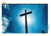 Silhouetted Cross Carry-all Pouch