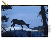 Silhouetted Deer Carry-all Pouch