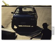 Silhouetted Skateboarder Carry-all Pouch