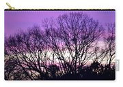 Silhouettes Against Pink Skies Carry-all Pouch