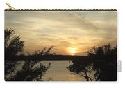 Silhouettes Of Sunset Carry-all Pouch