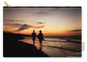Silhouettes On Varadero Beach Carry-all Pouch