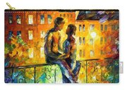 Silhouettes - Palette Knife Oil Painting On Canvas By Leonid Afremov Carry-all Pouch