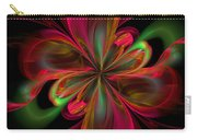 Silk Butterfly Abstract Carry-all Pouch