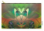 Silk Fan - Abstract  Carry-all Pouch