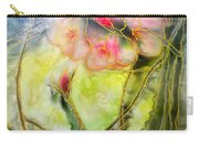 Silky Almond Flower Carry-all Pouch