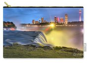 Silky Niagara Falls Panoramic Sunset Carry-all Pouch