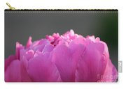 Silky Pink Petals Carry-all Pouch