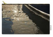 Silky Swirls And Zigzags - A Waterfront Abstract Carry-all Pouch