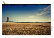Silo In Wheat Carry-all Pouch