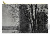 Silos - Black And White Carry-all Pouch