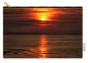 Silouhette In Sunset  Carry-all Pouch