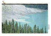 1m3531-silt Entering Peyto Lake Carry-all Pouch