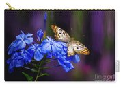 Silver And Gold Carry-all Pouch by Lois Bryan