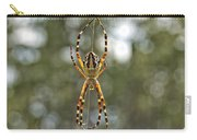 Silver Argiope Carry-all Pouch
