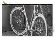 Silver Bike Bw Carry-all Pouch