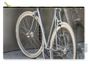 Silver Bike Carry-all Pouch