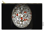 Silver Egg Carry-all Pouch by Eleni Mac Synodinos