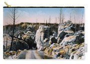 Silver Gate Road Yellowstone Np Carry-all Pouch
