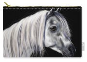 Grey Arabian Mare Painting Carry-all Pouch