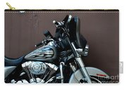 Silver Harley Motorcycle Carry-all Pouch
