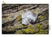 Silver Leaf Carry-all Pouch