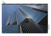 Silver Lines To The Sky - Downtown Toronto Skyscraper Carry-all Pouch