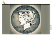 1922 Silver Proof Peace Dollar Carry-all Pouch